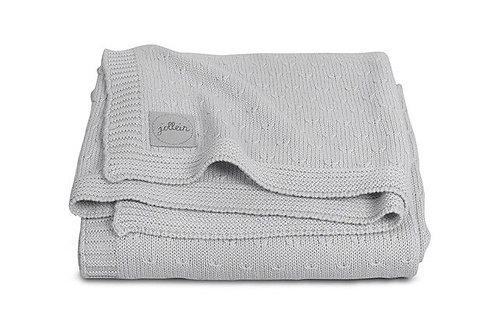 Вязаный плед Soft knit 100х150 см Jollein