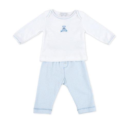 Топ и брючки Baby's Teddy (голубой) Magnolia Baby