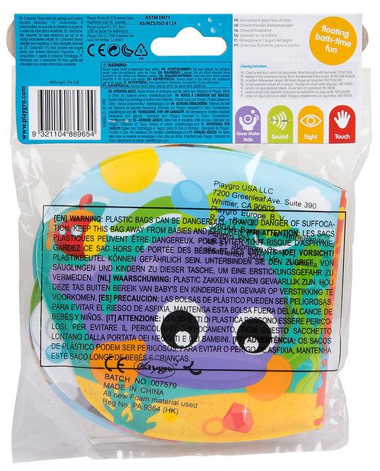 Игрушка книжка для игр в ванной (пищалка) Playgro