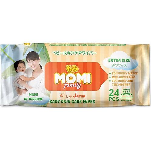 Family Extra Size Детские влажные салфетки  24 шт. (300х200mm) MOMI