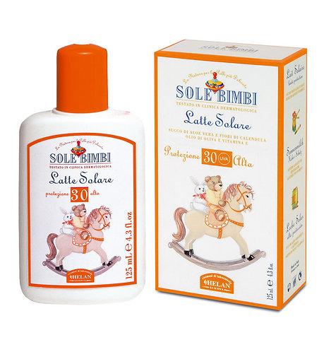 Солнцезащитное молочко SPF 30 HELAN