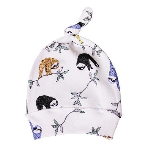 Детская шапочка с узелком ленивцы Toucan for Kids
