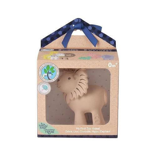 Игрушка из каучука Лев в подарочной упаковке Tikiri