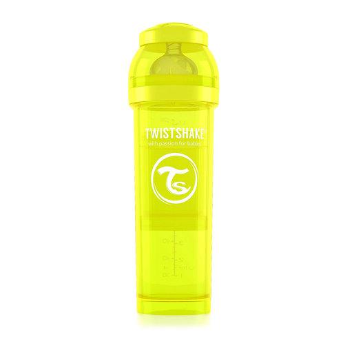 Антиколиковая бутылочка 330 мл Коллекция Неон Twistshake