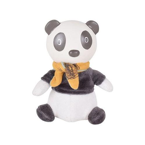 Мягконабивная игрушка с головой из каучука Панда Pancha Tikiri