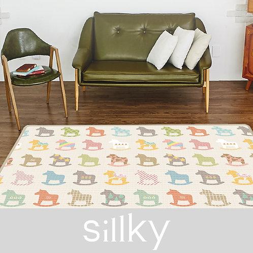 """Односторонний коврик Sillky """"Деревянные лошадки"""" (230x140x1.2 см) Parklon"""
