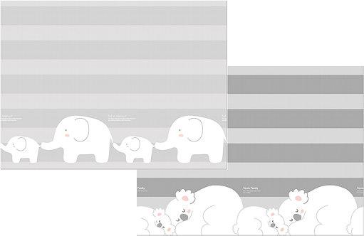 "Детский коврик Prime Living ""Коалы/Слоники за хвостики""(180х200х1,5 см) Parklon"