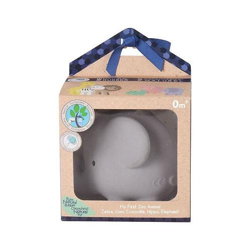 Игрушка из каучука Слон в подарочной упаковке Tikiri