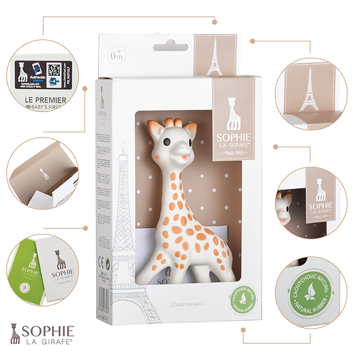 Прорезыватель Vulli  Жирафик Софи Sophie la girafe