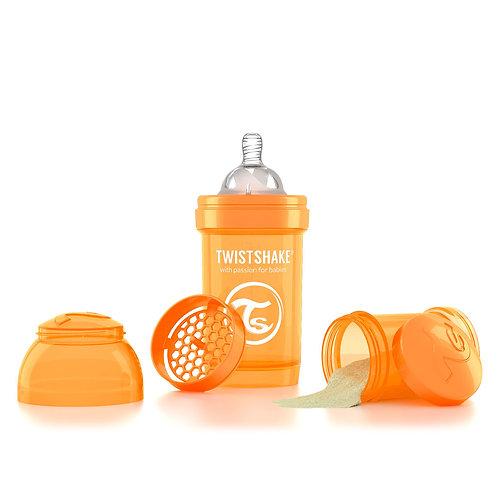Антиколиковая бутылочка 180 мл Коллекция Неон Twistshake