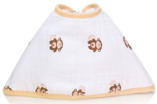 Слюнявчики burpy bib Safari friends-monkeys Aden Anais