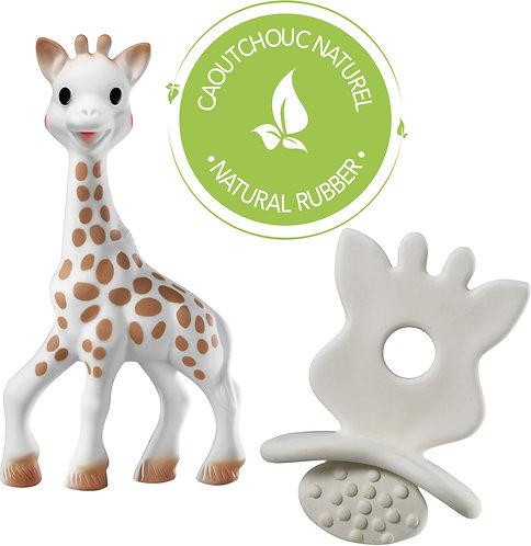 Vulli Набор: игрушка Жирафик Софи с прорезывателем Sophie la girafe
