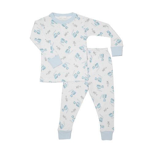 Пижама для мальчика Tiny Choo Choo Long Pijamas Magnolia Baby