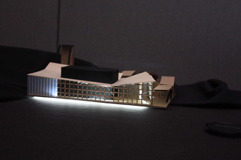 Performing Arts Center Light Model