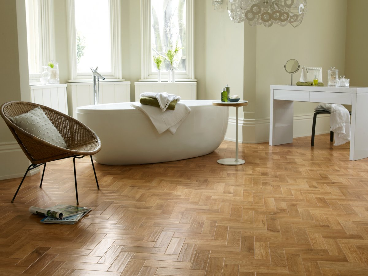 Luxury Vinyl Plank - herringbone
