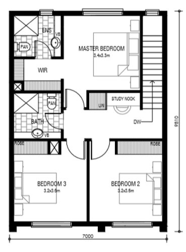 Woodville West Floor Plan 2