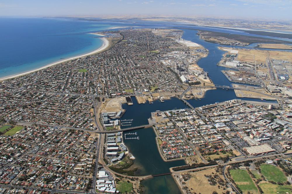 aerial photo city
