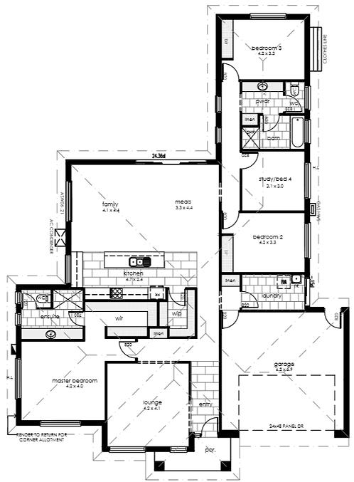 Mount Barker floor plan 2