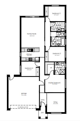 Angle Vale property floorplan
