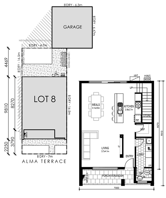 Woodville West Floor Plan 1
