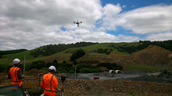 UAV Operation, Whitehall Quarry, NZ