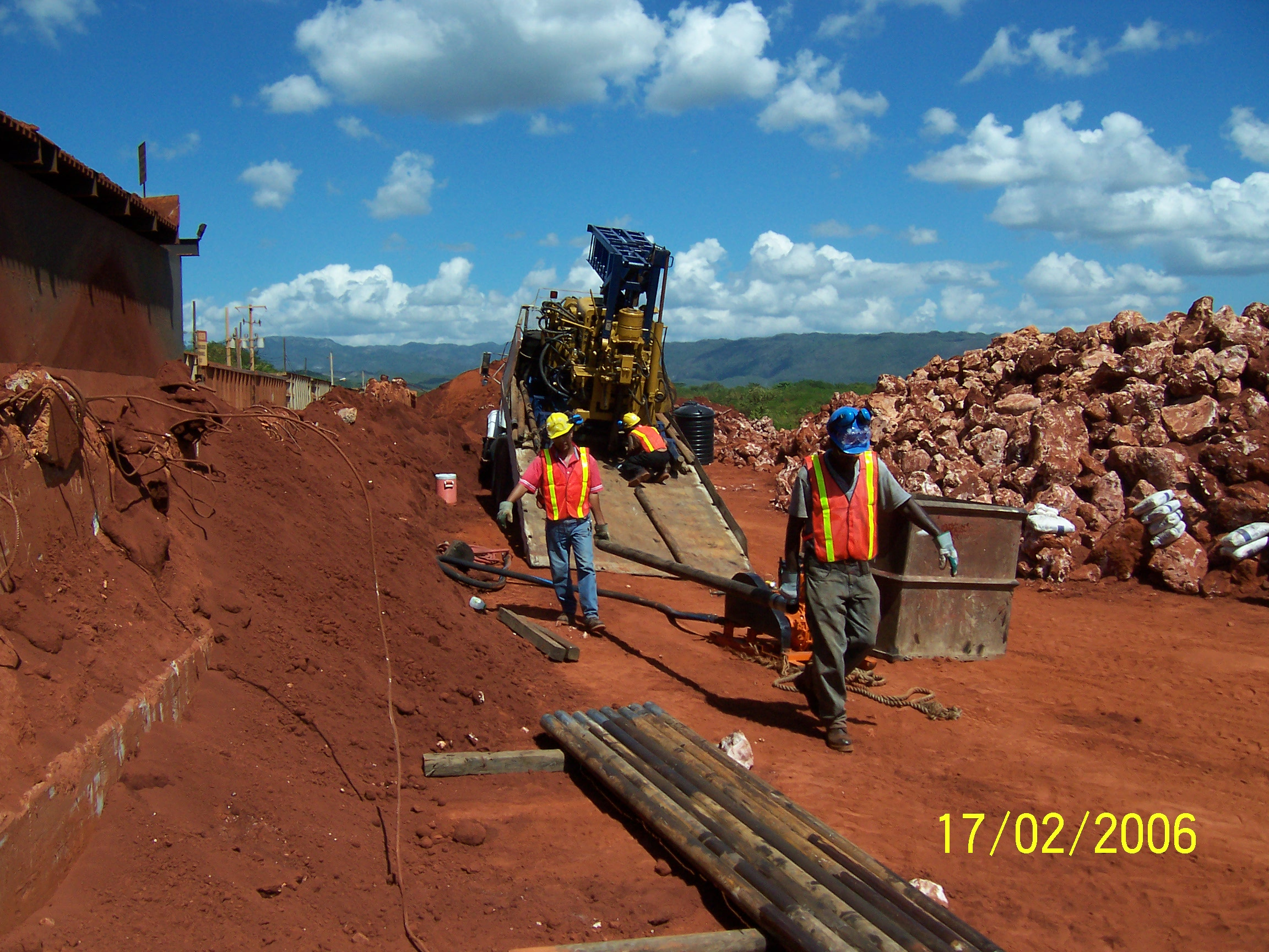 Geotechnical Drilling, Jamaica