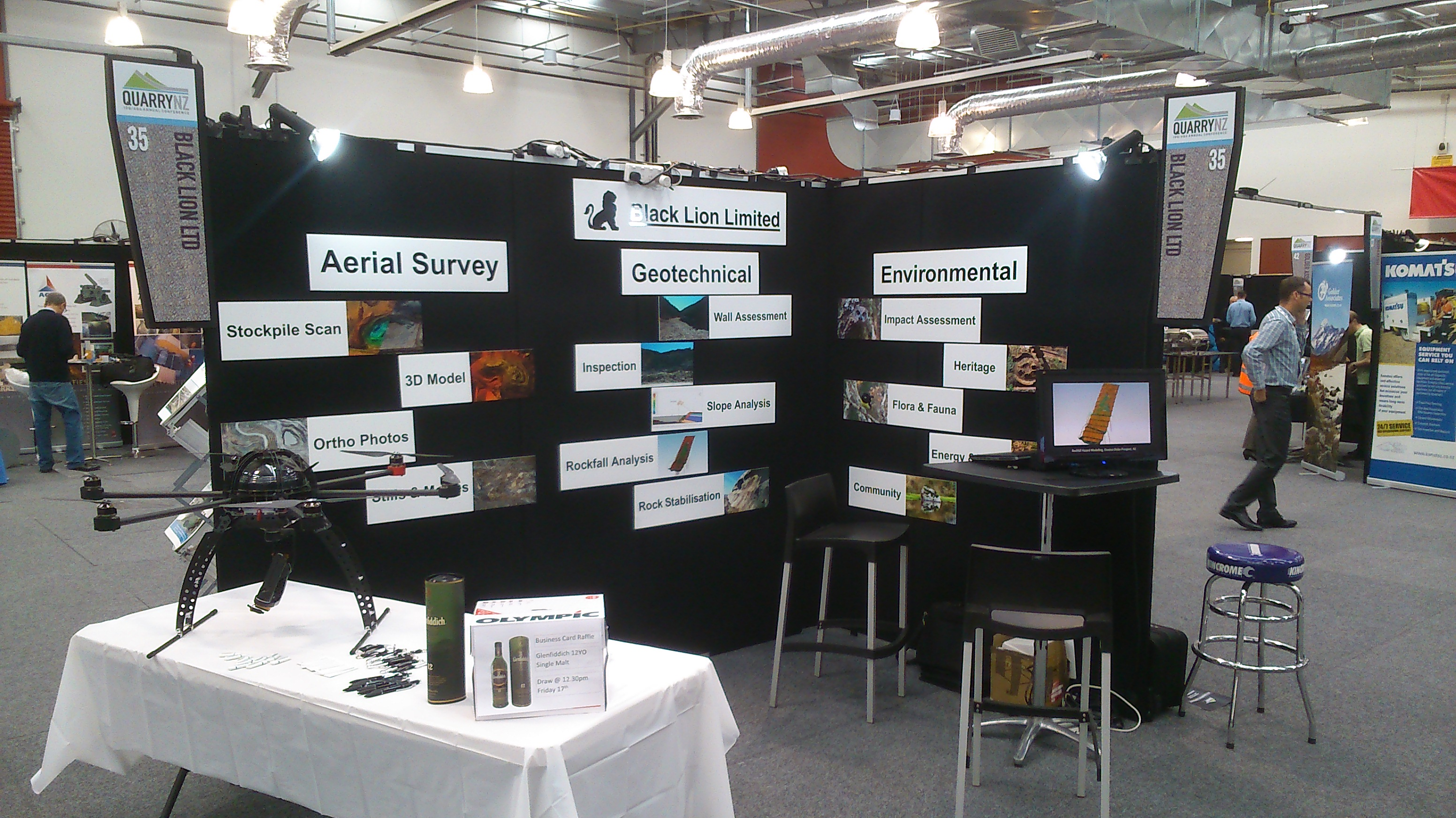 QuarryNZ 2015 Exhibition
