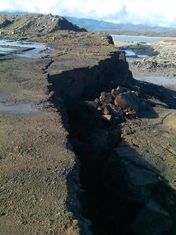 Slope Failure, Stockton, NZ