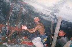 Underground Mining, South Africa