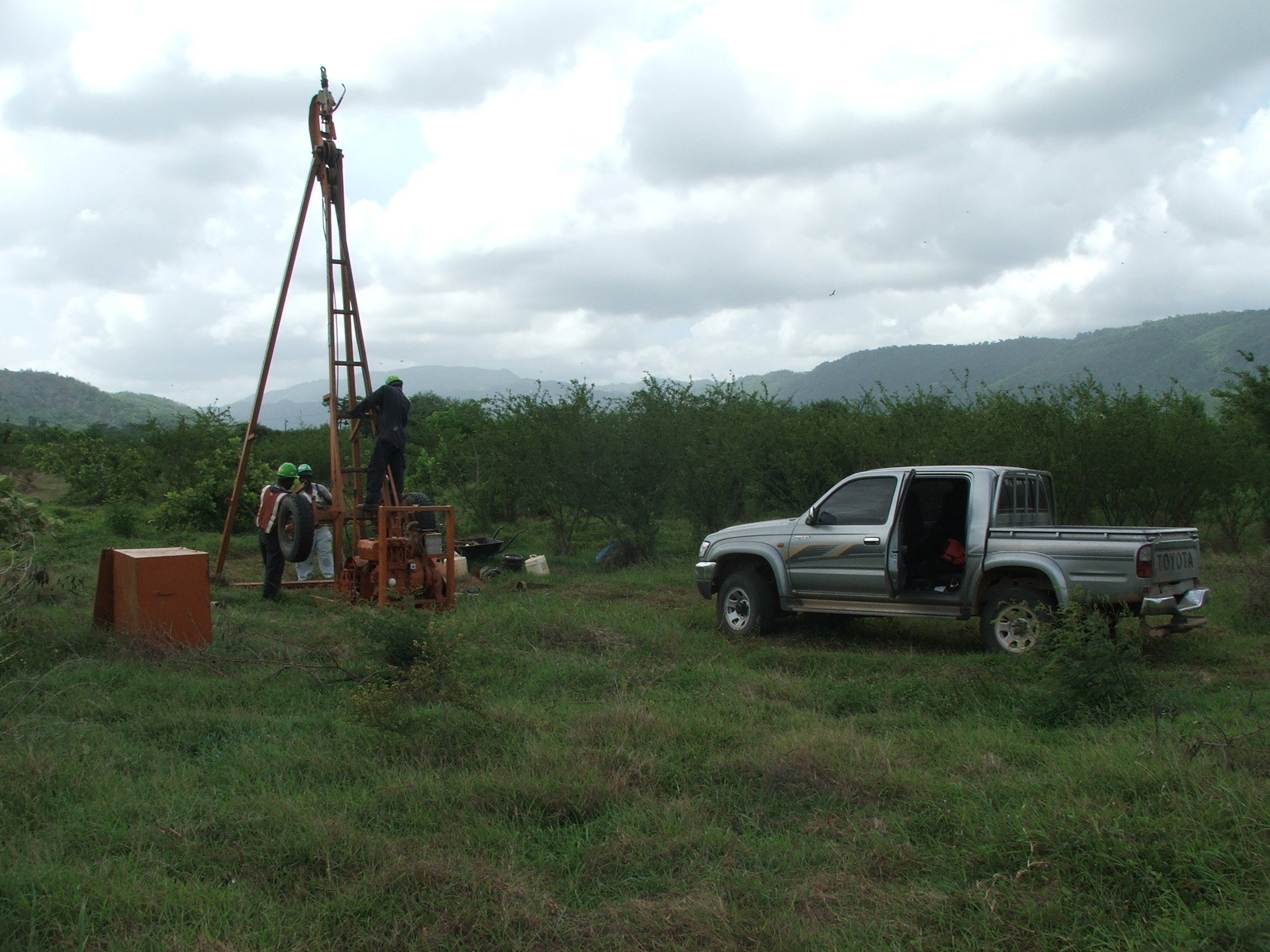 Site Investigation Drilling, Jamaica