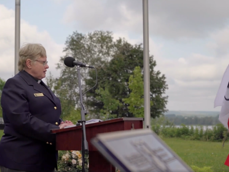 NB Peace Officer's Memorial Service 2021