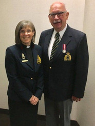 Chaplains Katherine Bourbonniere and Michael Rolph