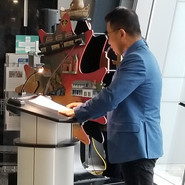 "Chaplain DongJoo ""DJ"" Kim at CPCA Seminar 2018"