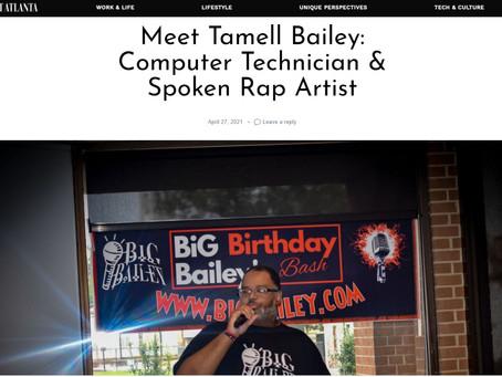 Shoutout Atlanta article featuring Big Bailey