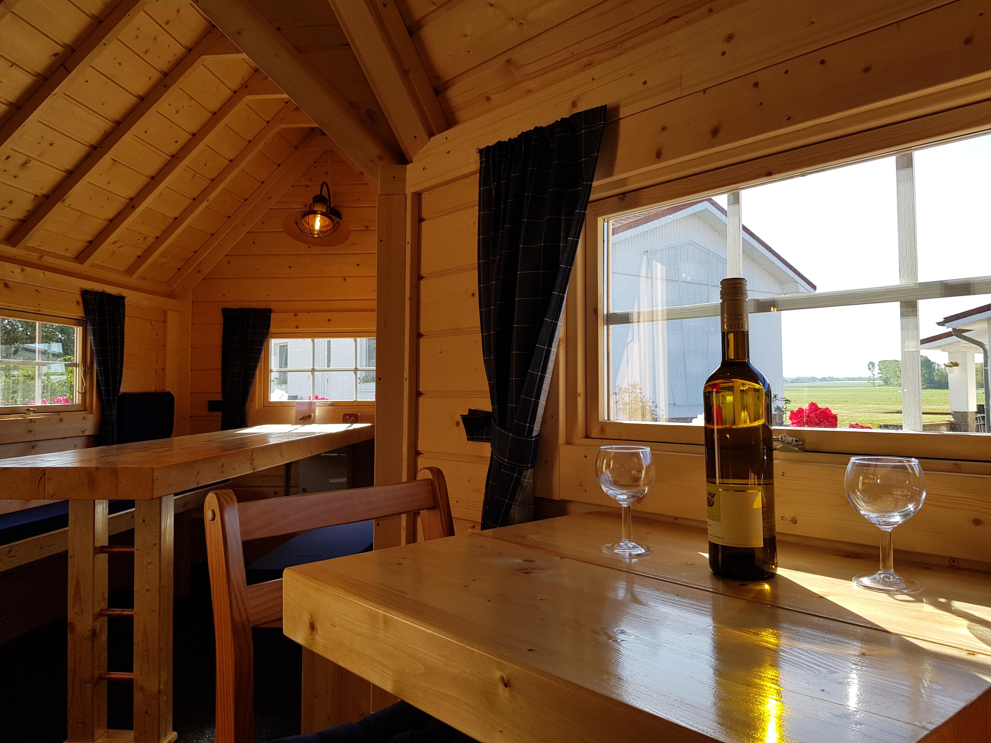 Gästehütte mit schönen Blick in die Natur