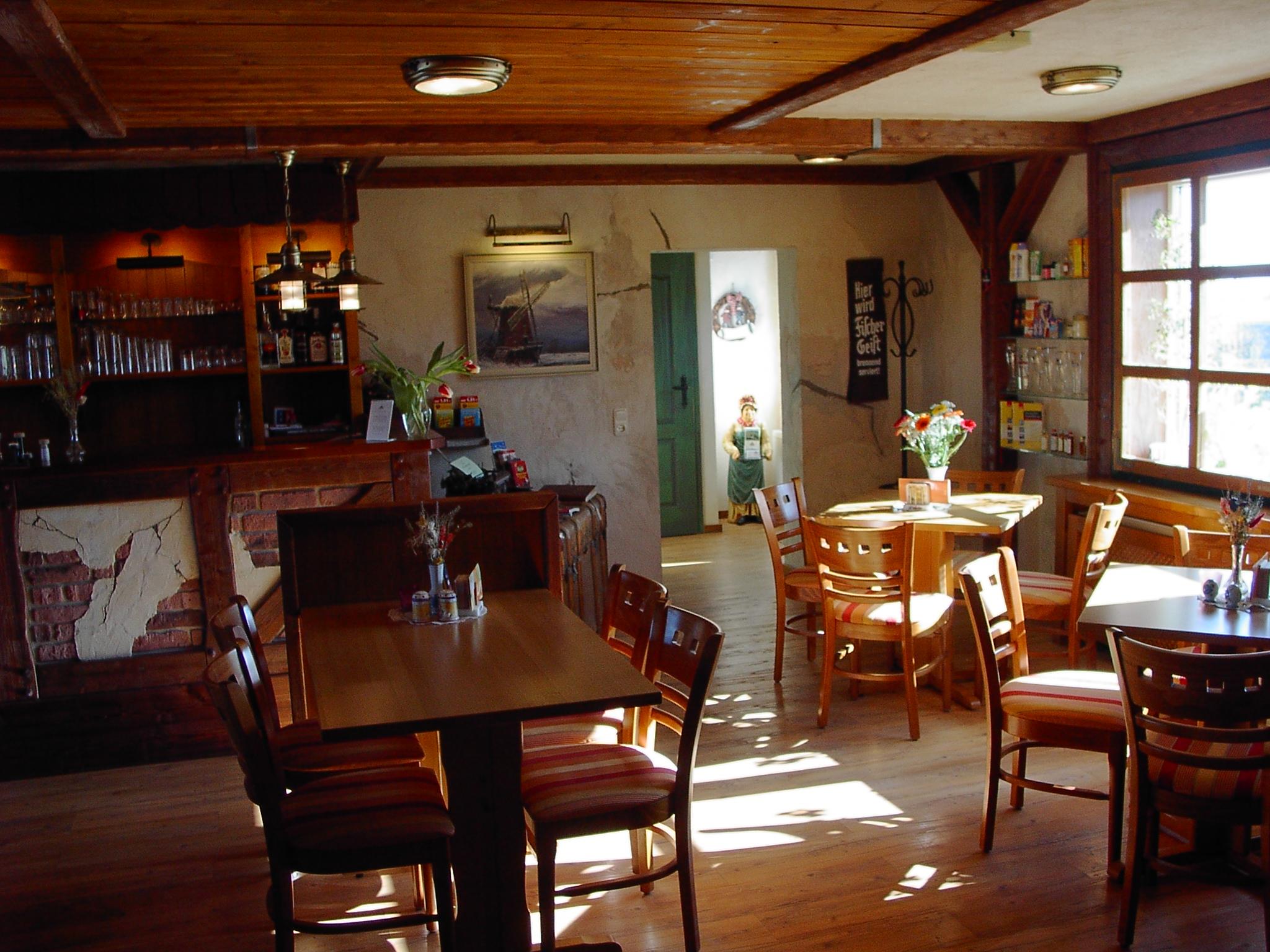 Frühstücksraum mit Ambiente