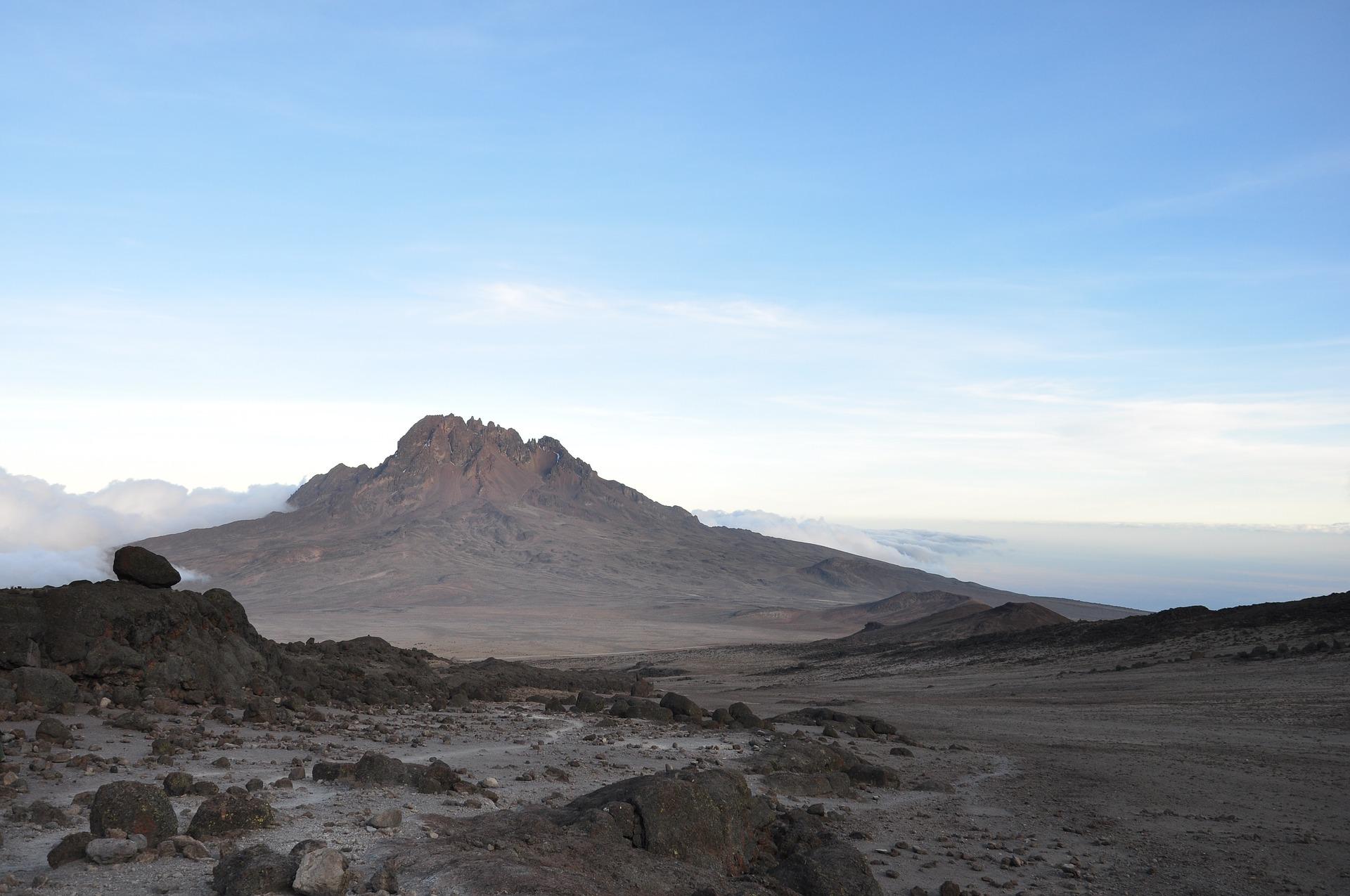 Peak mount Meru