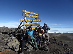 Gipfel des Mount Kilimanjaro