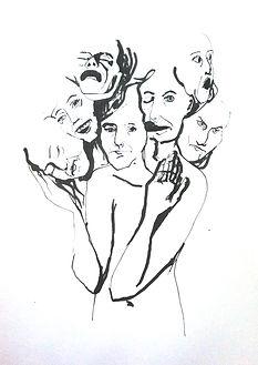 Theresa Berger, Zeichnung