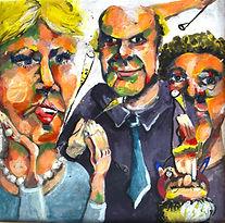 Theresa Berger, Malerei, die Gesellschaft