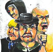 Theresa Berger, Malerei, die Wut