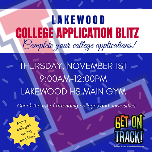 Seniors get your college applications co