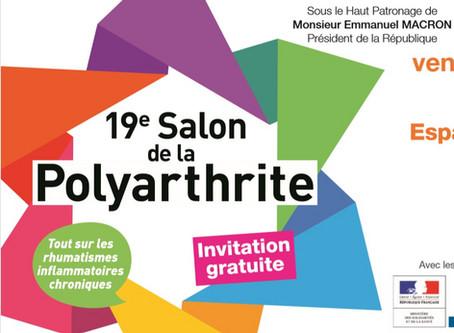Présentation au 19ème salon de la polyarthrite le 11 octobre 2019