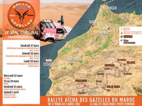SOLUTIONS-VE partenaire officiel de Rallye Aïcha des Gazelles