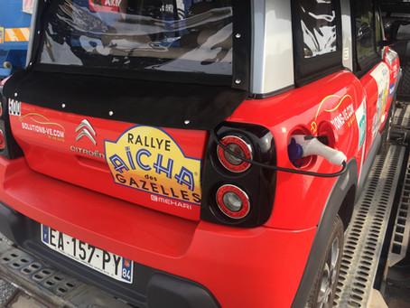 Rallye Aïcha des Gazelles du Maroc: une nouvelle catégorie électrique est née ...