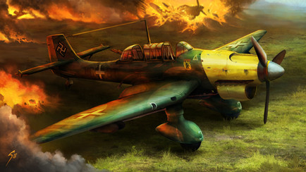 Stuka Dive-Bomber