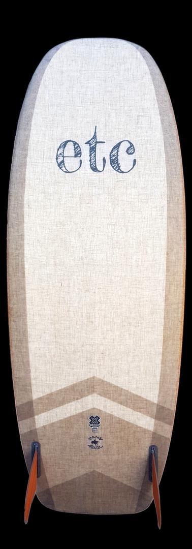 5'4 mini simmons in flax
