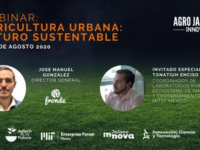Webinar: Agricultura Urbana: Futuro Sustentable