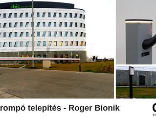 Roger Bionik sorompót telepítettünk GSM rendszerrel