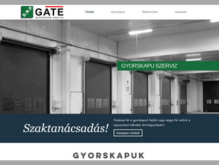 Elkészült új, gyorskapu weboldalunk!